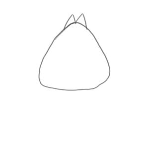 猪 イラスト 簡単3