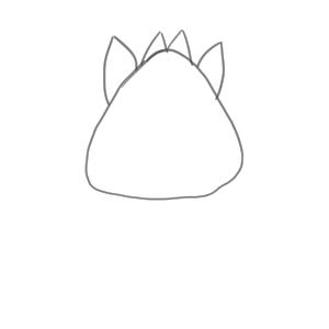 猪 イラスト 簡単4