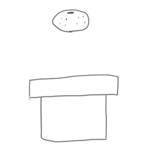 鏡餅 イラスト 簡単3