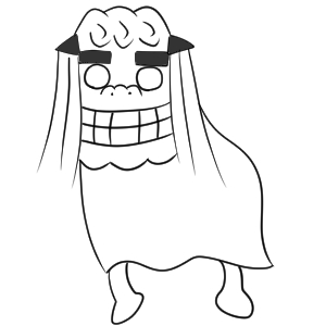 獅子舞 イラスト 書き方10