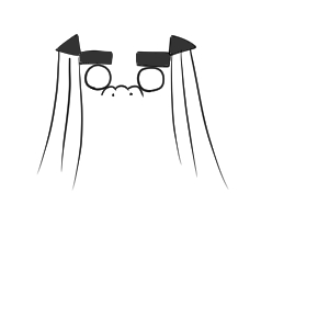 獅子舞 イラスト 書き方4