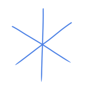 雪 イラスト 簡単2
