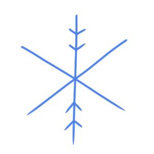 雪 イラスト 簡単3