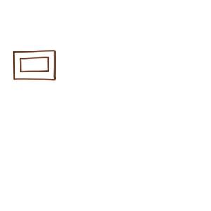 チョコ イラスト 簡単2