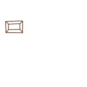 チョコ イラスト 簡単3