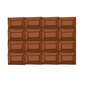 チョコ イラスト 簡単5