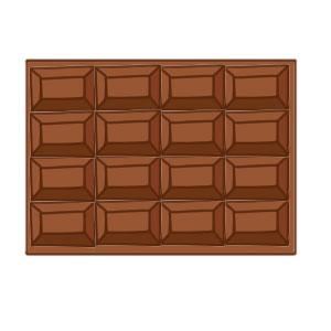 チョコ イラスト 簡単