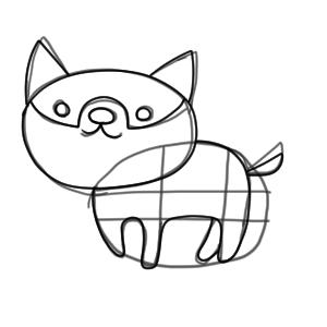 犬のイラストの簡単でかわいい書き方 初心者でも描ける イラストの簡単