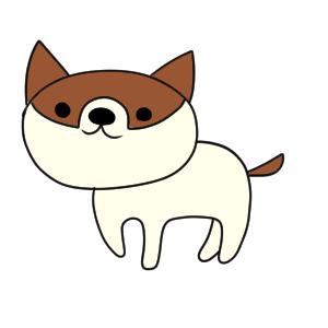犬 イラスト かわいい
