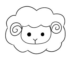羊 イラスト 簡単
