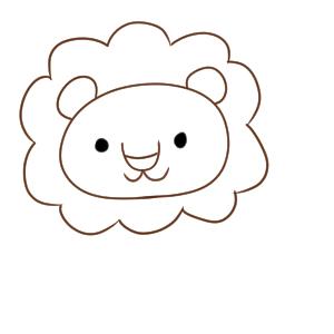 ライオンのイラストの簡単な書き方 初心者でも描ける イラストの簡単な