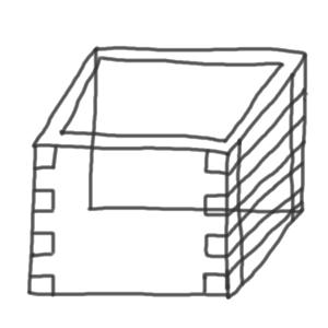 豆 書き方6