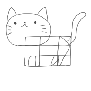 猫 イラスト 簡単