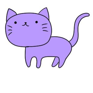 猫のイラストの簡単な書き方 初心者でも描けるコツは イラストの簡単