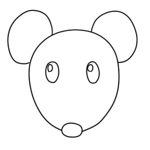 ネズミ 書き方