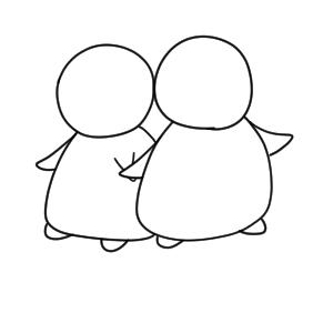 ペンギン 書き方