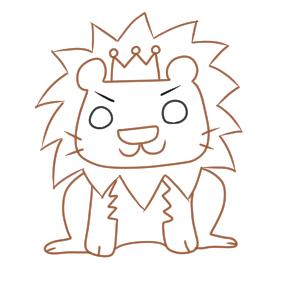 ライオン 書き方