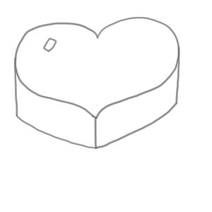 バレンタイン イラスト 簡単4