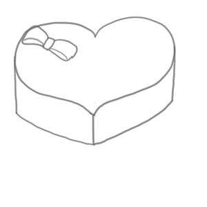 バレンタイン イラスト 簡単6