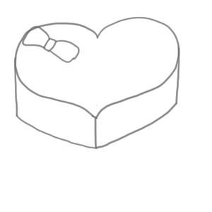 バレンタイン イラスト 簡単5