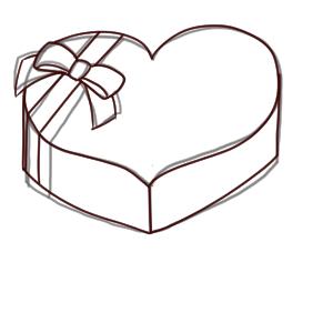 バレンタイン イラスト 簡単9