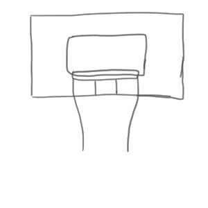 バスケ 書き方
