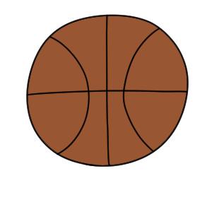 バスケットボール 書き方