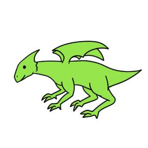 ドラゴン 書き方