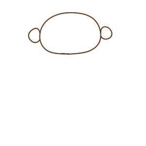 猿 イラスト 簡単