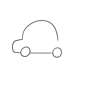 パトカー イラスト 簡単
