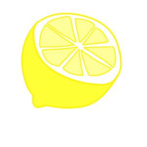 レモン イラスト 簡単