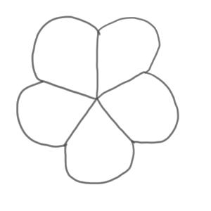 桜のイラストのかわいい書き方 初心者でも簡単に イラストの簡単な