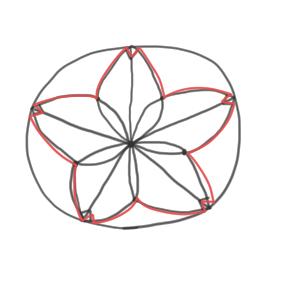 桜 イラスト かわいい 書き方