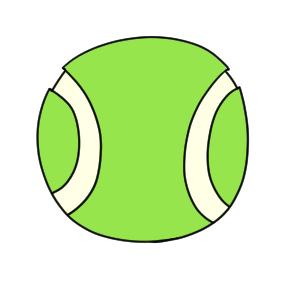 テニス 書き方