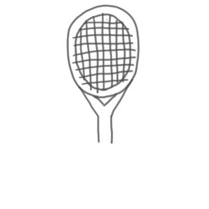 テニス イラスト 簡単