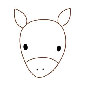 馬 イラスト 簡単