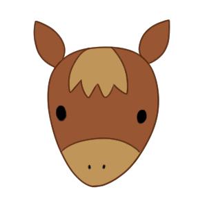 馬のイラストの簡単な書き方 初心者でも描けるコツは イラストの簡単