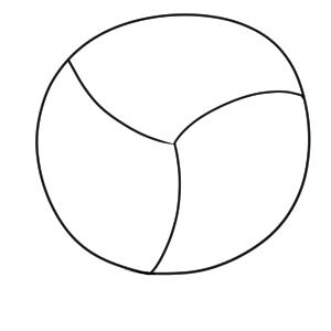 バレーボール イラスト 簡単