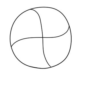 バレーボール 書き方