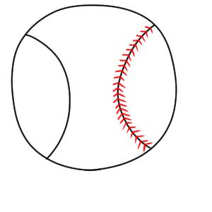 野球 イラスト 簡単