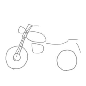 バイク 書き方
