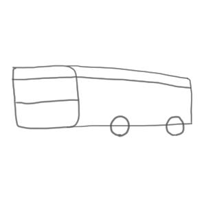 バス 書き方