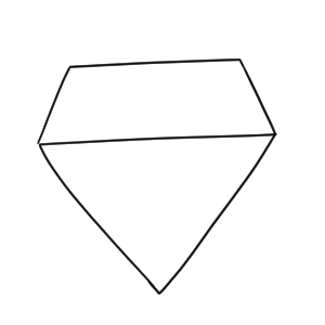 ダイヤモンド 書き方