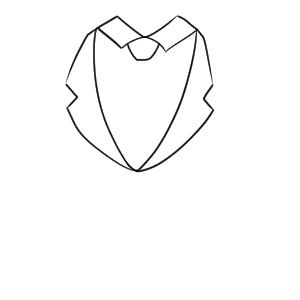 ネクタイの書き方は イラストを簡単に初心者でも描ける イラストの