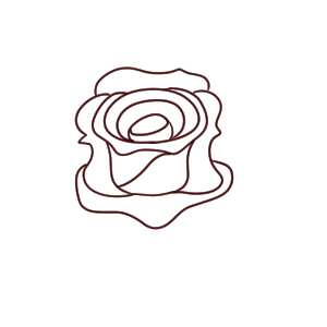 バラ イラスト 簡単
