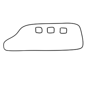新幹線 書き方