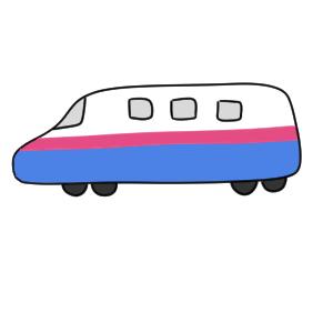 新幹線の書き方は イラストを簡単に初心者でも描くコツは イラストの簡単な書き方あつめました