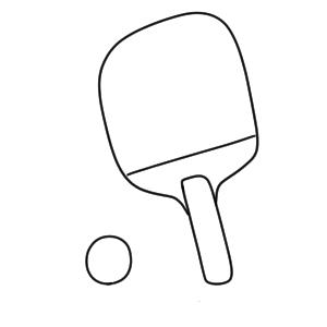 卓球 書き方