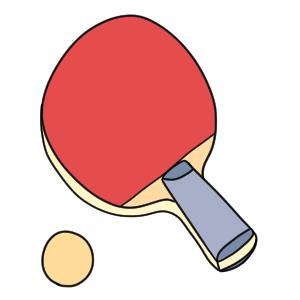 卓球 イラスト 簡単