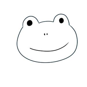 カエル イラスト かわいい